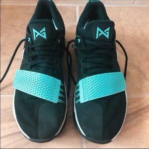 👟 🏀 Nike PG 1 Black Light Aqua